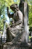 Stara statua na grób Obraz Stock