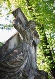 Stara statua na grób w Lviv Obraz Stock