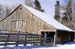 stara stodoła Obraz Stock
