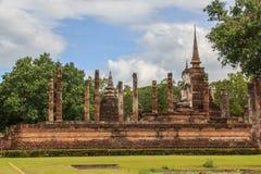 Stara Sukhothai świątynia Obraz Stock