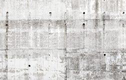 Stara szara betonowa ściana z szczegółami, tło tekstura Obraz Royalty Free