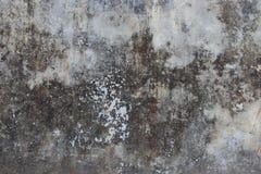 Stara szara grunge cementu ściana gdy rocznik starzał się betonowego tekstury tło Obrazy Stock