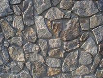 Stara szara szorstka kamiennej ściany tła fotografii tekstura Zdjęcia Royalty Free