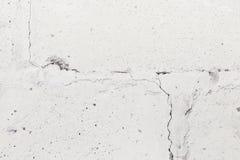 Stara szarości pęknięcia betonowa ściana Zdjęcie Royalty Free