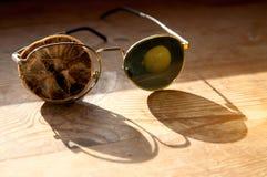 stara szkło sucha cytryna zdjęcia stock