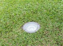 Stara szklana kula ziemska dla elektrycznej żarówki Obraz Royalty Free