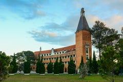 Stara szkoła w Dalat, Wietnam fotografia royalty free