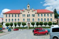 Stara szkoła budynek Fotografia Royalty Free