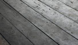 Stara Szorstka Drewniana podłoga Fotografia Stock