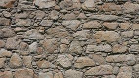 Stara, szorstka, nierówna kamienna ściana, obraz royalty free