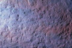 Stara szorstka powierzchnia betonowa ściana z nierównym narzutem Fotografia Stock