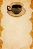 stara tło kawa Zdjęcie Royalty Free