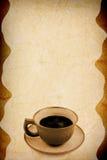 stara tło kawa Fotografia Stock