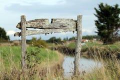 stara tablica drewna Fotografia Stock