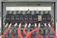 stara tablica rozdzielcza telefon Zdjęcia Stock
