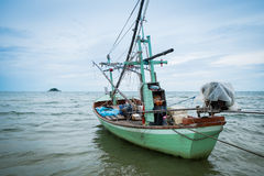 Stara Tajlandzka łódź rybacka Obraz Stock