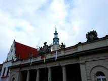 Stara Targowego kwadrata architektura Zdjęcia Stock