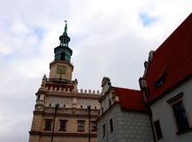 Stara Targowego kwadrata architektura Obrazy Royalty Free