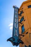 Stara teatr markiza Fotografia Royalty Free