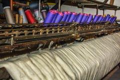 Stara Tekstylna maszyna Zdjęcie Royalty Free