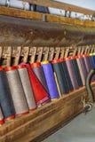 Stara Tekstylna maszyna Obrazy Royalty Free