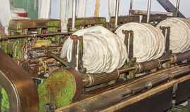 Stara Tekstylna maszyna Fotografia Stock