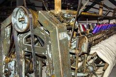 Stara Tekstylna maszyna Obraz Royalty Free
