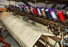 Stara Tekstylna maszyna Zdjęcia Royalty Free