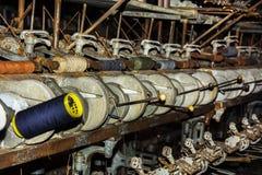 Stara Tekstylna maszyna Obraz Stock