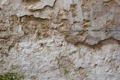 Stara textured ściana Zdjęcie Stock
