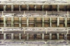 Stara tradycyjna japońska drewniana struktura Zdjęcie Stock