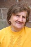 stara uśmiechnięta kobieta obrazy stock