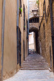 Stara ulica. Obrazy Royalty Free