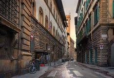 Stara ulica Praga obrazy stock