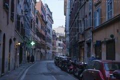 Stara ulica Rome Zdjęcia Royalty Free