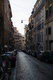 Stara ulica w centrum Rzym Zdjęcie Royalty Free