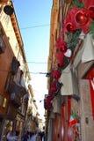 Stara uliczna dekoracja, Verona, Włochy Zdjęcie Royalty Free