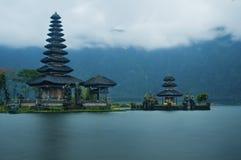 Stara Ulun Danu świątynia Zdjęcie Royalty Free