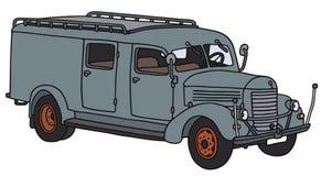 Stara usługa ciężarówka Zdjęcia Royalty Free