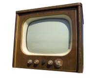 stara ustalona telewizja Obrazy Stock