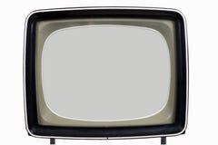stara ustalona telewizja Obraz Royalty Free