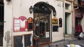Stara Włoska Uliczna kawiarnia zdjęcie wideo