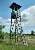 Stara wieża obserwacyjna w Don stepie Obrazy Royalty Free
