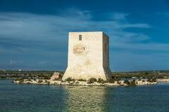 Stara wieża obserwacyjna w Hiszpania Obraz Royalty Free