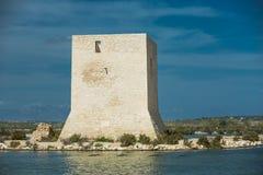 Stara wieża obserwacyjna w Hiszpania Obraz Stock