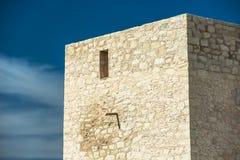 Stara wieża obserwacyjna w Hiszpania Obrazy Royalty Free