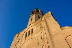Stara wierzący katedra ochrona Święta dziewica w Borovsk, Rosja obrazy stock