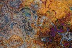 Stara wietrzejąca drewniana tekstura z uszkadzającą warstwą abstrakcyjny tło ilustracji