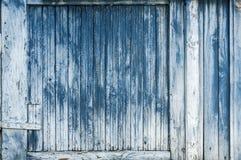 Stara wietrzejąca drewnianej deski ściana Obraz Royalty Free