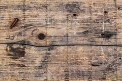 Stara Wietrzejąca Krakingowych Drewnianych desek Nawierzchniowa tekstura Obrazy Royalty Free